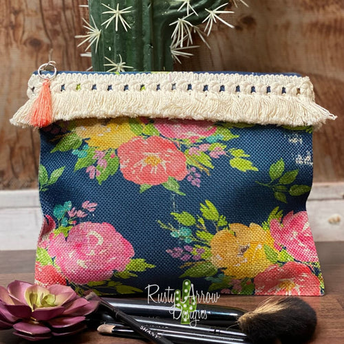 Blue Morning Cosmetic Bags & Accessories Bag