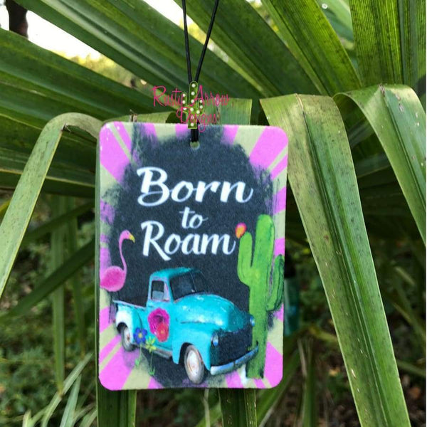 Born to Roam Highly Scented Air Freshener - Air Freshener