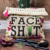 Cactus Face Shit Cosmetic Bags & Accessories Bag