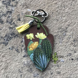 Cactus Flower Arrow Head Key Chain - Key Chain