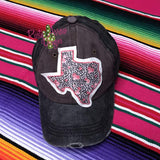 Cheetah Texas Trucker Hat