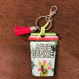 Coffee Cup Key Chains - Java Junkie