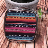 Compact Mirror - Colorful stripes - Compact Mirror