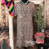 Crazy Train Leopard Laid Back Dress