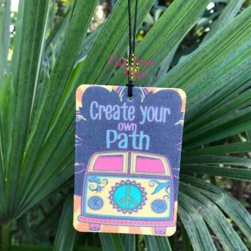 Create Your Own Path Highly Scented Air Freshener - Air Freshener