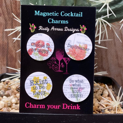 Daydreamer Magnetic Cocktail Charms
