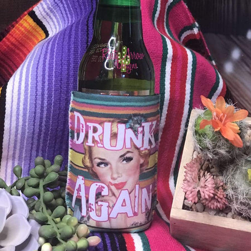 Drunk Again 12 oz Koozie - Koozie