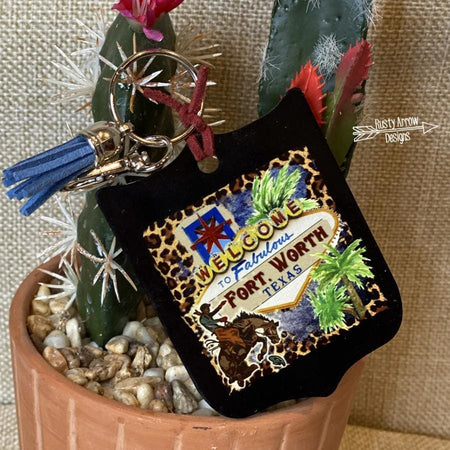 Aztec Hard to Handle Fringe Trim 12 oz Koozie