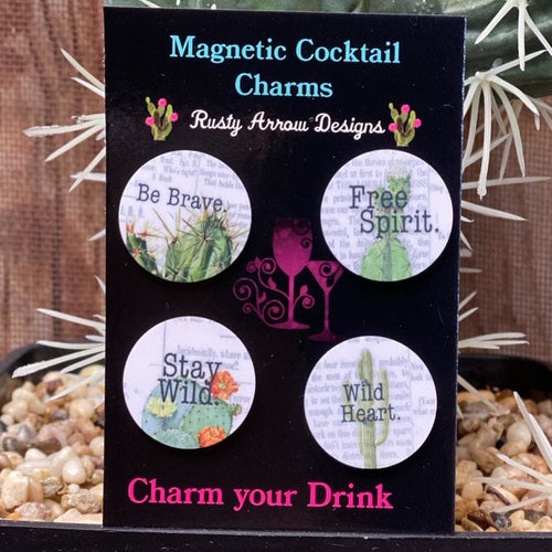 Free Spirit Magnetic Cocktail Charms