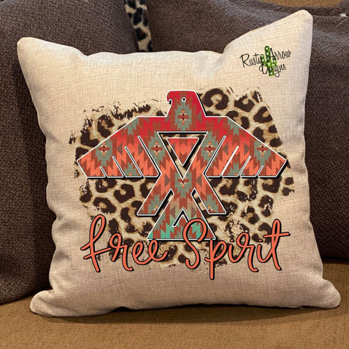 Free Spirit Pillow Cover - Pillow