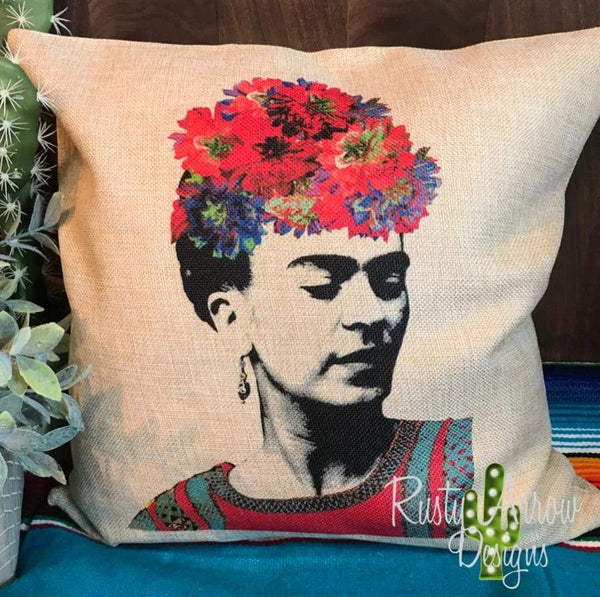 Frida Kahol Decorative Throw Pillow - Pillow