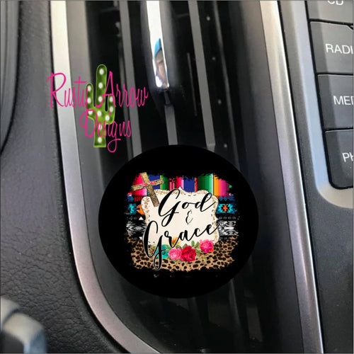 God & Grace Car Vent Clip