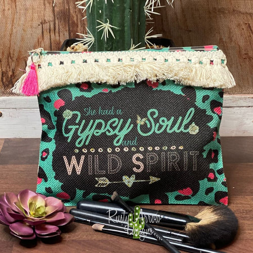 Gypsy Soul and Wild Spirit Cosmetic Bags & Accessories Bag