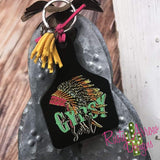 Gypsy Soul Ear Tag Key chain