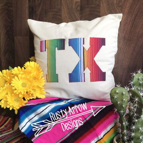 Hand Sewn TX Pillow - pillows