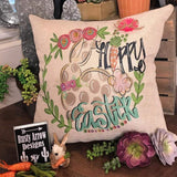 Happy Easter Decorative Throw Pillow - Pillow