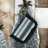 Key Chain Wallet - Mexican Blanket