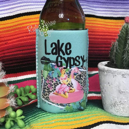 Lake Gypsy 12 oz Koozie - Koozie