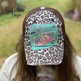 Lake Gypsy Cheetah Trucker Hat