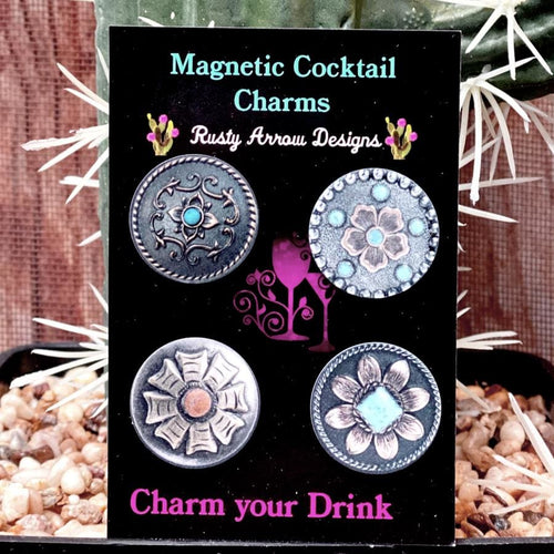 Let's get Western Magnetic Cocktail Charms