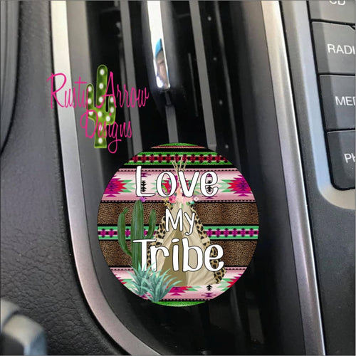 Love My Tribe Car Vent Clip