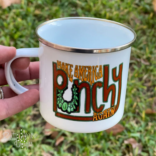 Make America Punchy 11oz Camp Mug - Mug