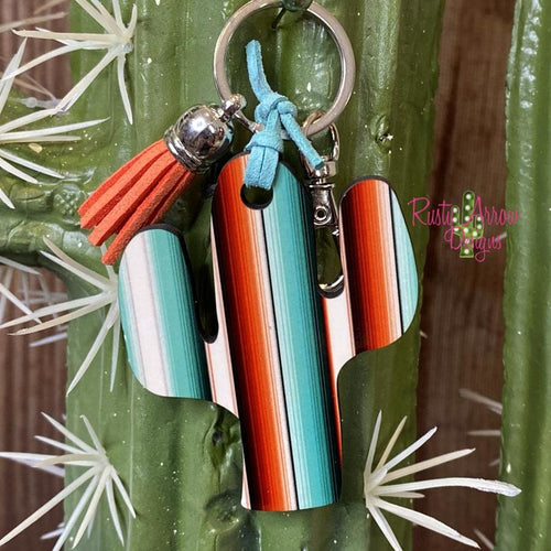 Mexi Blanket Cactus Key Chain