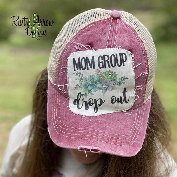 Mom Group Drop Out Trucker Hat