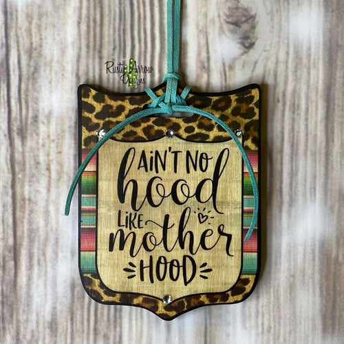 Motherhood Tag Rear View Mirror Hanger Christmas Ornament Bag Tag