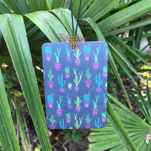 Neon Cactus Highly Scented Air Freshener - Air Freshener