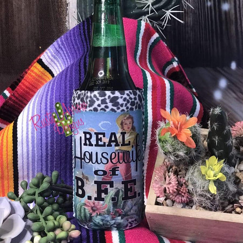 Real Housewife of BFE Bottle or Can Slim Koozie - Koozie