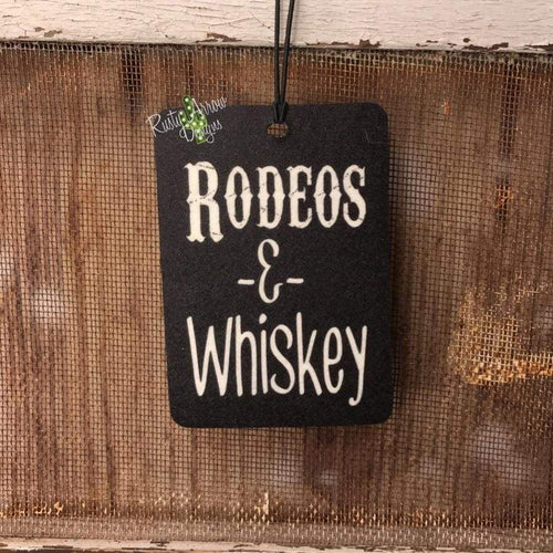 Rodeo & Whiskey Highly Scented Air Freshener - Air Freshener