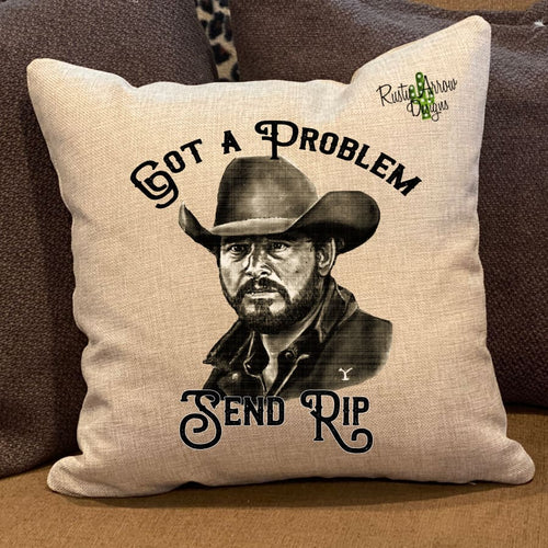 Send Rip Pillow Cover - Pillow