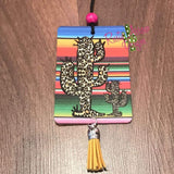 Serape Cheetah Cactus Highly Scented Air Freshener - Air Freshener