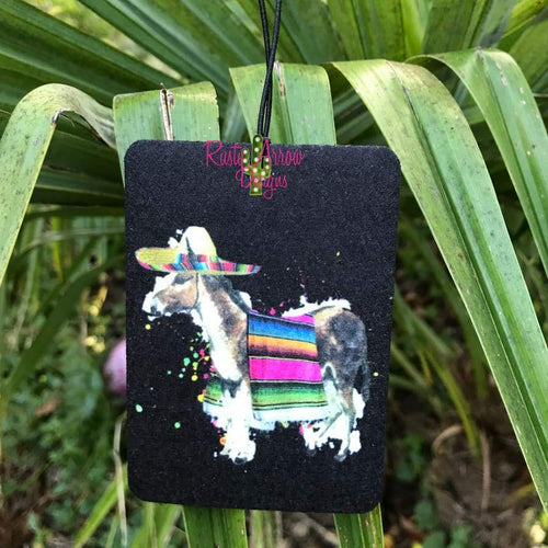 Serape Donkey Highly Scented Air Freshener - Air Freshener