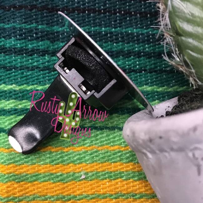 Serape Sunflower Car Vent Clip