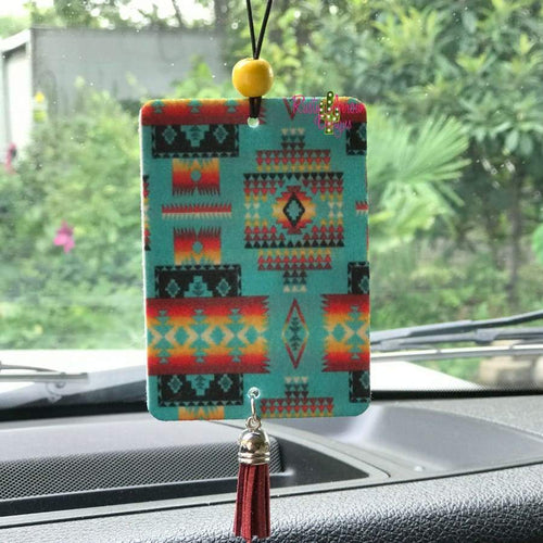 Turquoise Aztec Highly Scented Air Freshener - Air Freshener