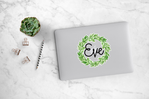 Leafy Wreath Decal - Eve