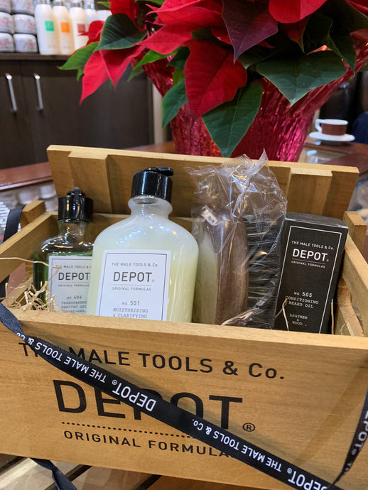 Depot Men's Grooming Gift set for