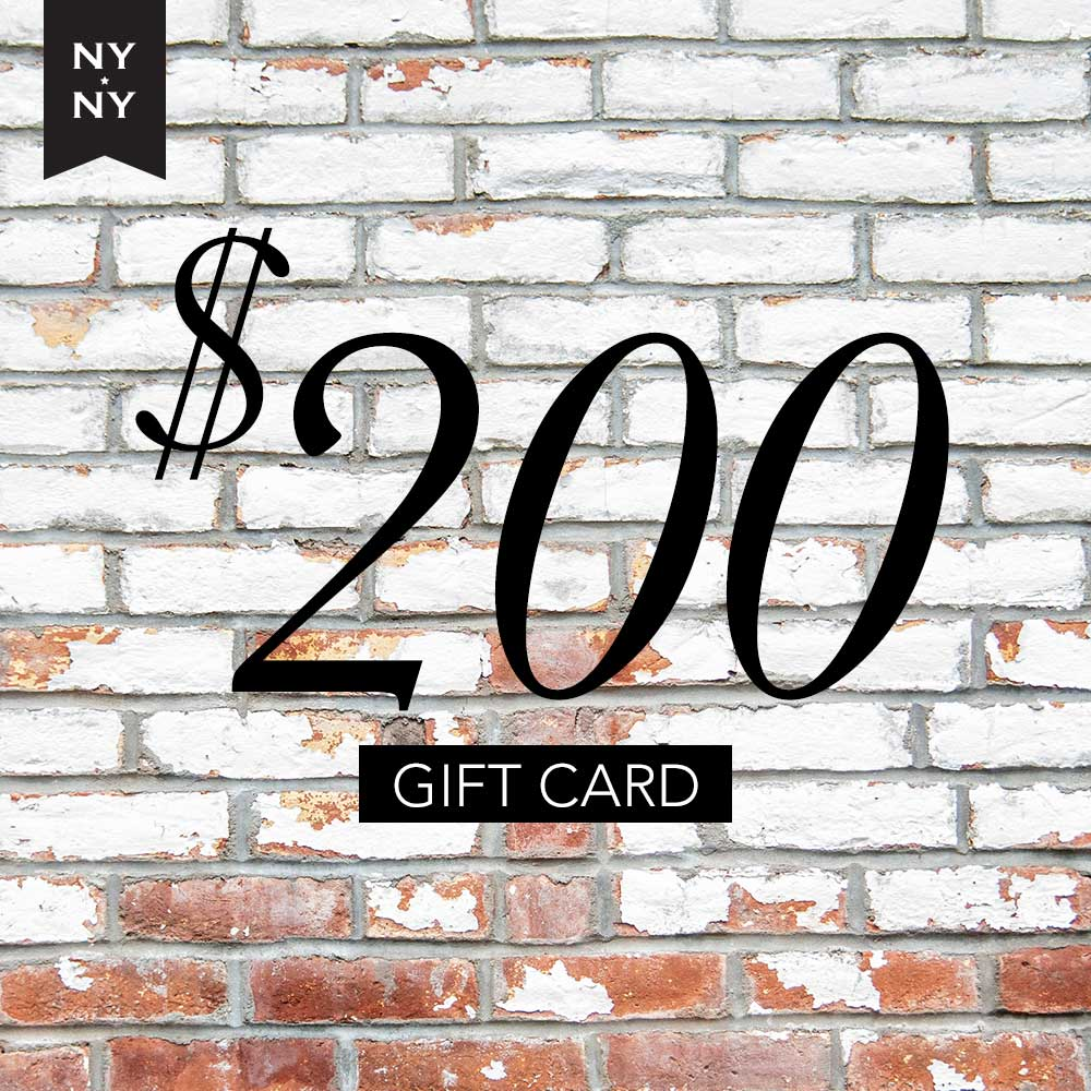 NYNY Men's Grooming Lounge Gift Card - $200