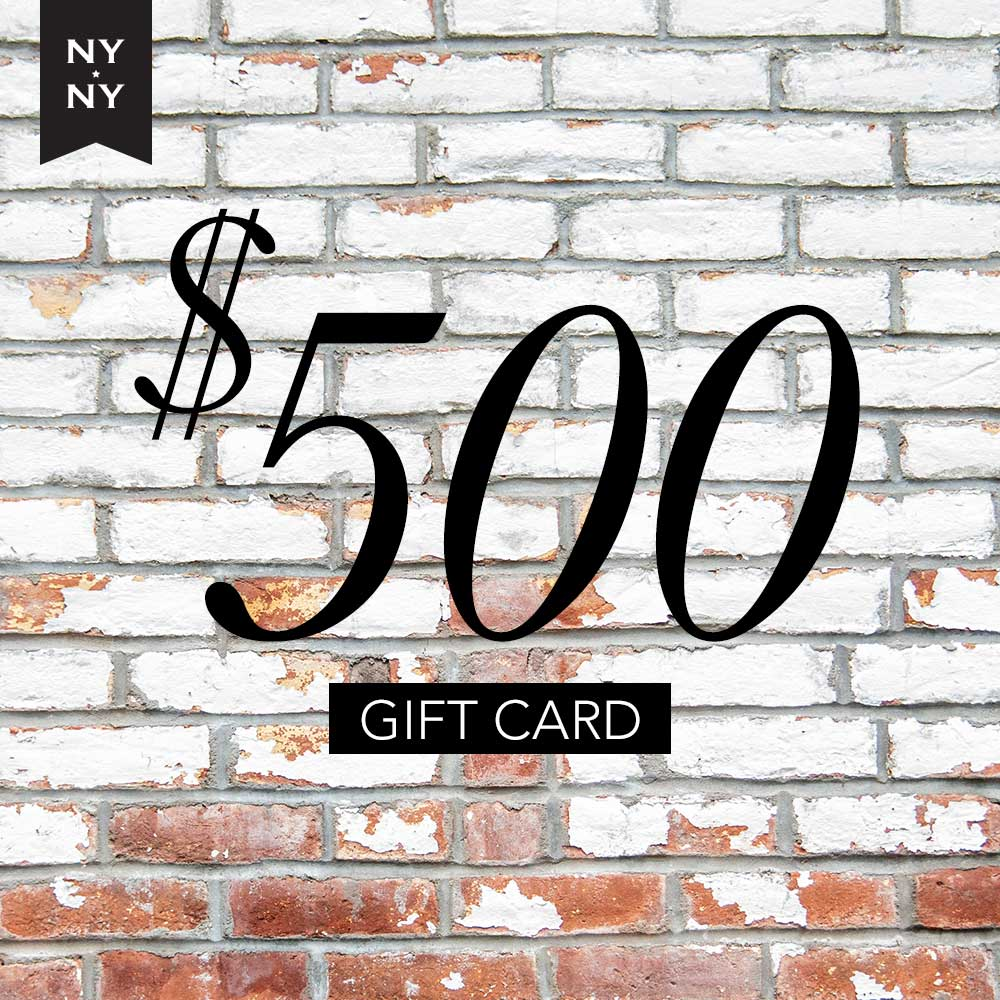NYNY Men's Grooming Lounge Gift Card - $500