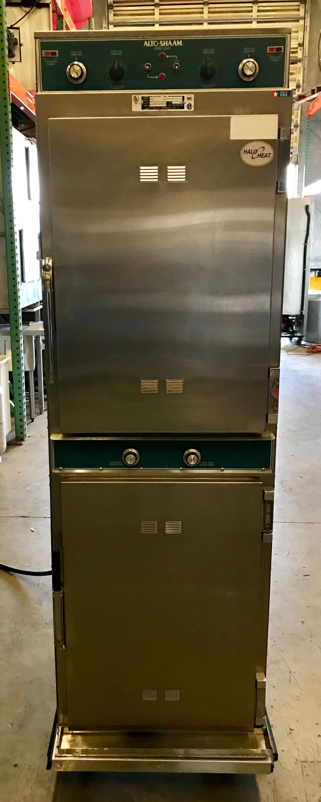 ALTO SHAAM 1000 TH I DOUBLE STACK COOK HOLD OVEN