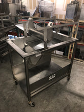 Belshaw HG18EZ Stainless Steel Donut Icing Bakery Glazing Table w/ Glazer