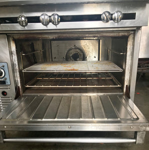 Garland/US Range 6 burner w/convection oven and salamander