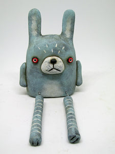 Spring, Valentines or Easter shelf sitting primitive bunny