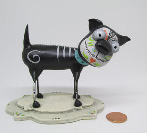 Day of the Dead dog four legged friend