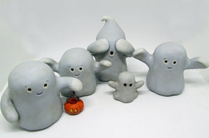 Halloween set of two ghosts CUTE was 105.00 now 75.00!