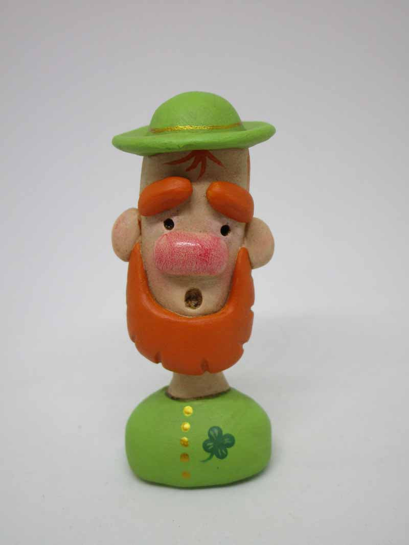 St. Patrick's day leprechaun 2.75 inches tall