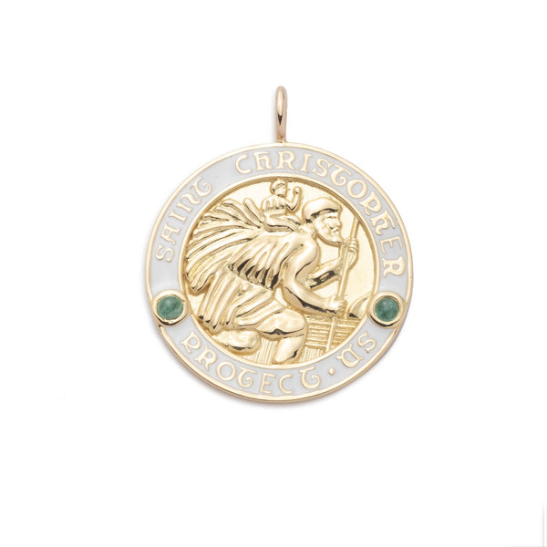 Saint Christopher Large Pendant