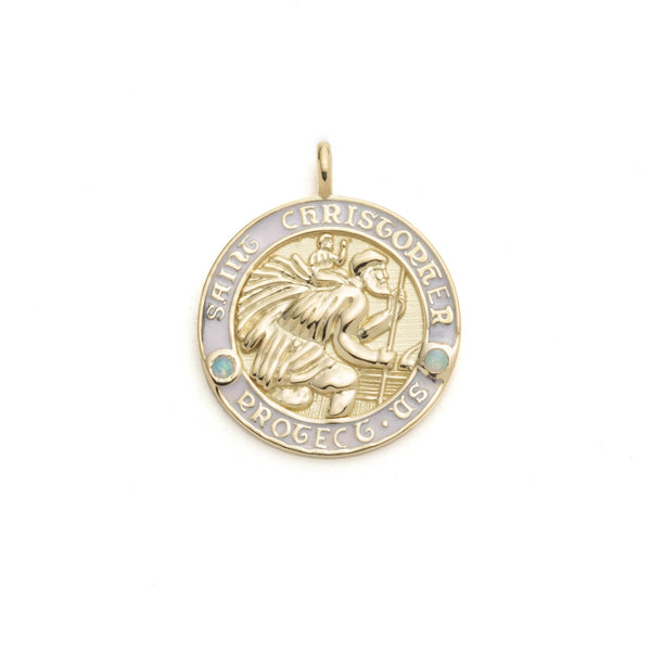 Saint Christopher Medium Pendant